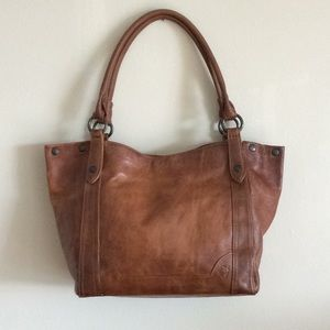 NWT Frye Melissa Shoulder Bag in Cognac